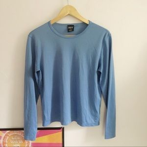 Patagonia Capilene Base layer blue shirt